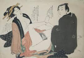 Eizan, Having an affair, c. 1820, shunga