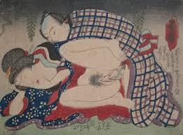 Kuniyoshi, Oh my, my dear, c.1850, shunga