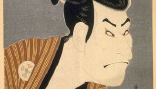 The Actor Otani Oniji III by Toshusai Sharaku, c.1794, ukiyo-e, yakusha-e