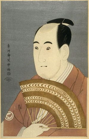 The Actor Sawamura Sojuro III, by Sharaku, c.1794, ukiyo-e, yakusha-e