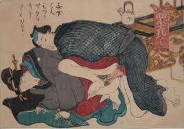 Toyokuni III, Deeper please, c.1850, shunga