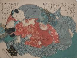 Toyokuni III, I want more, c.1850, shunga